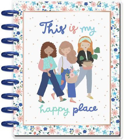Ежедневник июль 2020 - декабрь 2021 -Classic Deluxe Vertical Happy Planner® -Squad Goals – Happy Place -  19,5х24,5см