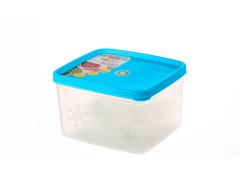 Контейнер для хранения Alaska 1,1 литра квадратный с крышкой Эльфпласт 12,5х141,х9,6 см