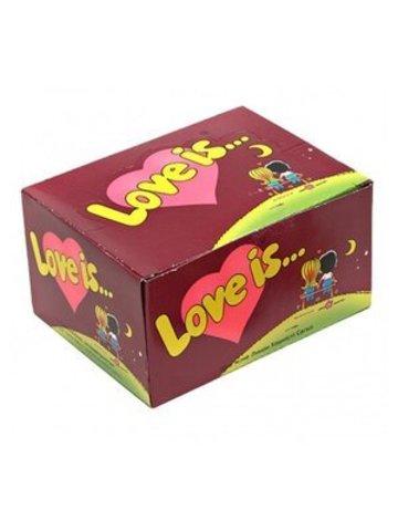 Жевательная резинка Love is… Вишня-лимон 10х4.2 гр