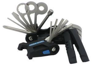 Набор инструмента SIGMA 14 предметов на блистере: набор шестигранников, отвертки, монтажки, спицной ключ