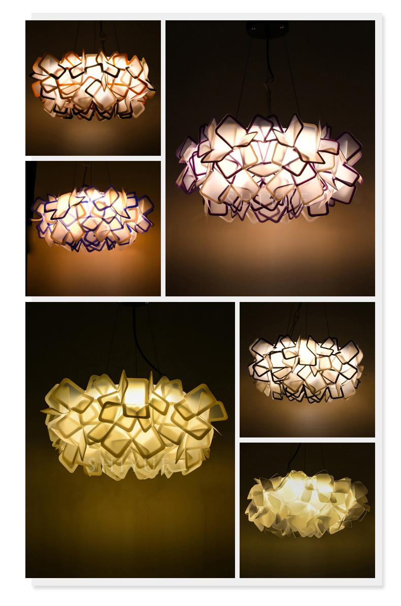 Подвесной светильник Clizia by Slamp D70 (пурпурный)