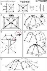 Купить Кемпинговая палатка Trimm Trekking FOCUS напрямую от производителя, недорого и с доставкой.