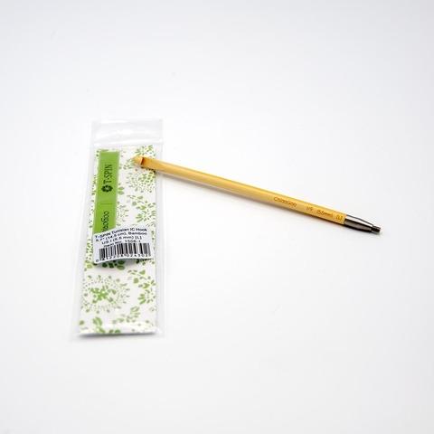 Крючок для тунисского вязания, бамбук, ChiaoGoo