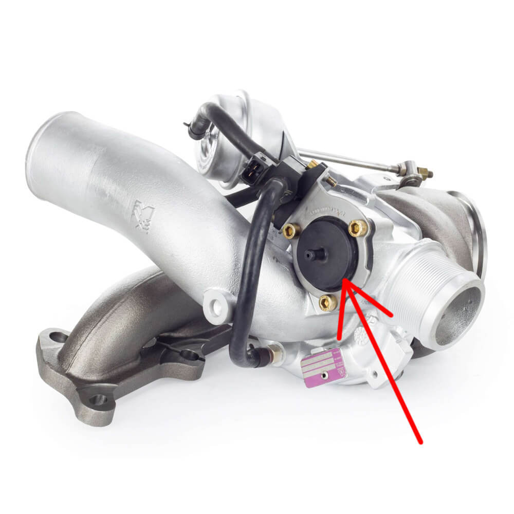 Установленный Байпас клапан на турбину Opel