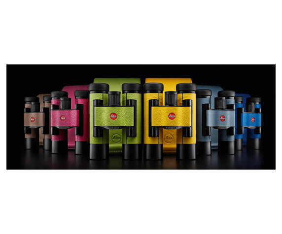 Бинокль Leica Ultravid Colorline 10x25 Capri Blue - фото 3