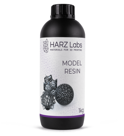 Фотополимер HARZ Labs Model Resin, черный (1000 гр)