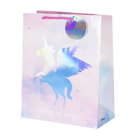 Пакет подарочный Unicorn 26*32*12.5 2