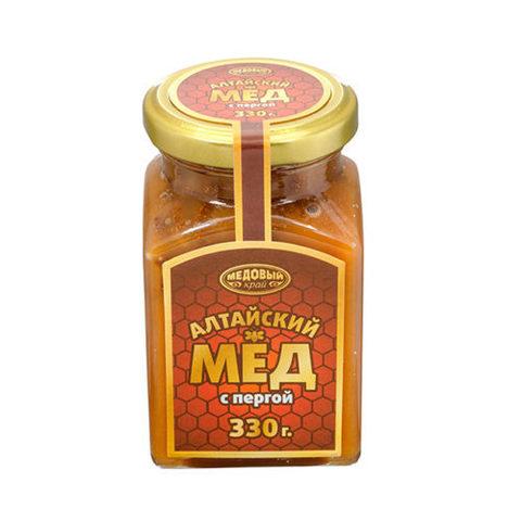 Алтайский мёд с пергой, 320 г