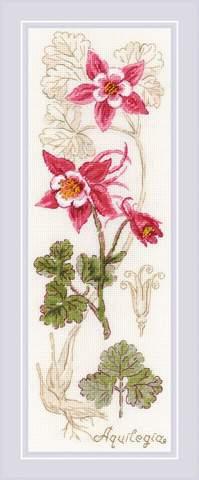 Набор для вышивания крестом «Аквилегия» (1796)
