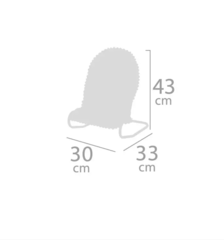 DeCuevas Стульчик гамак для куклы, серия Фантазия океана 43 см (51441)