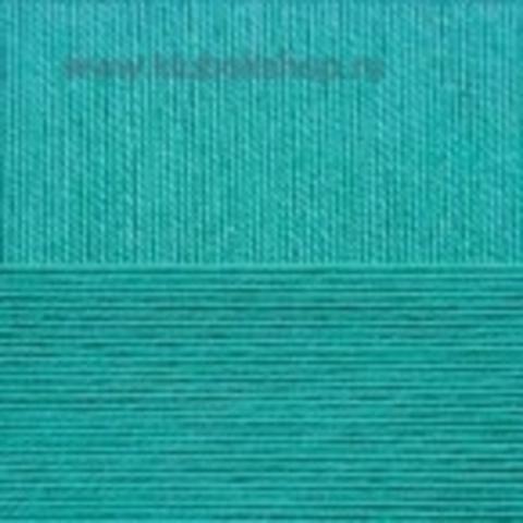 Пряжа Успешная (Пехорка) зеленка 511
