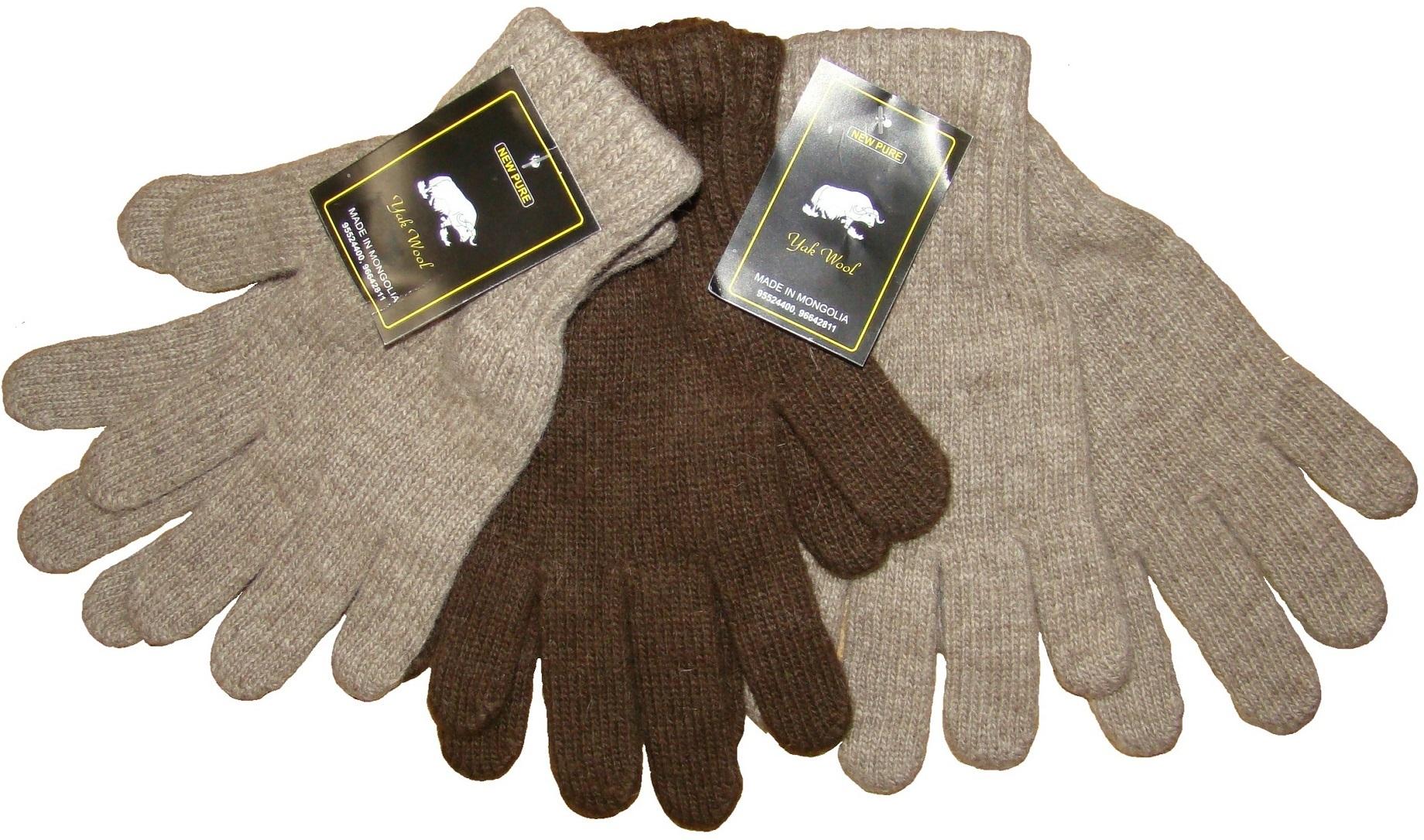 Перчатки из верблюжьей шерсти фото3