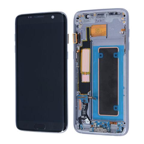 LCD SAMSUNG Galaxy S7 Edge G935F + Touch + Frame Black Orig