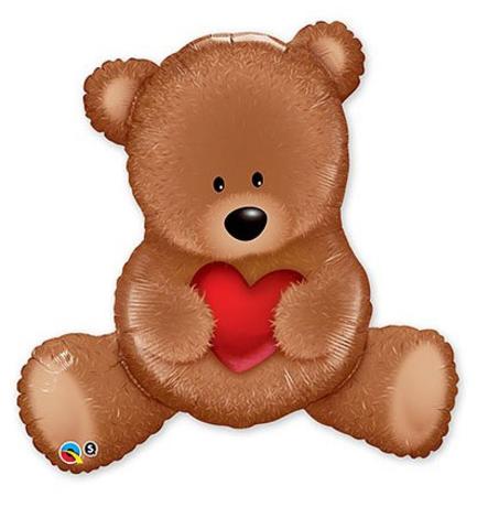 1207-1558 П ФИГУРА 6 Мишка плюшевый с сердцем