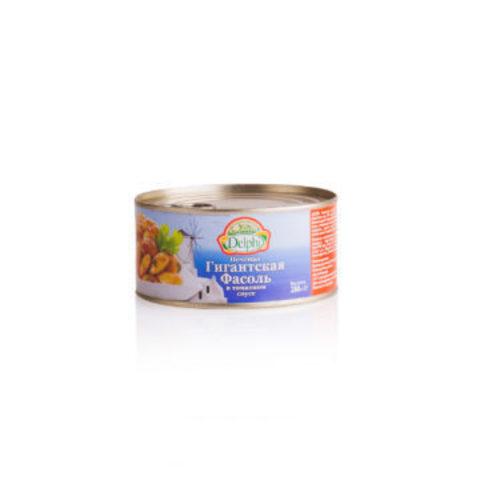 Фасоль печеная гигантская в томатном соусе Delphi 280 гр