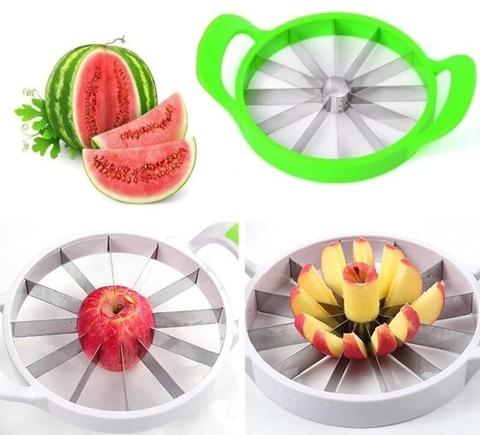 Слайсер-нож для нарезки арбуза и фруктов дольками