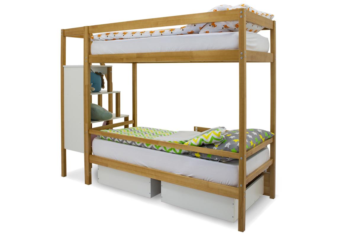 Двухъярусная кровать «Svogen» дерево