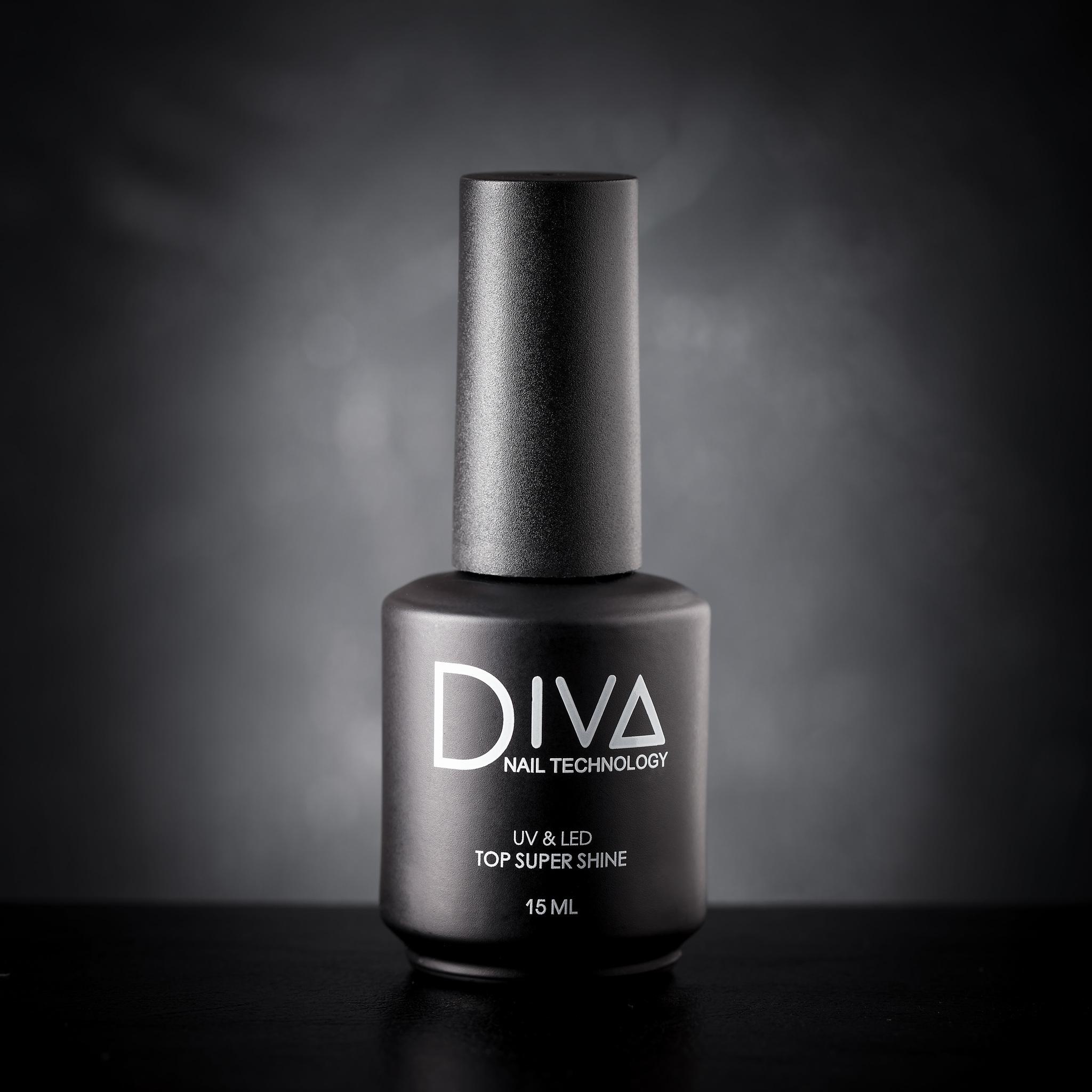 Топ с мерцанием DIVA Top Super Shine 15мл