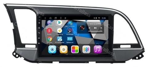 Штатная магнитола Hyundai Elantra (16-18) Android 9.02/16GB IPS модель CB3088T3К