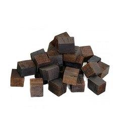 Дубовые кубики  (сильный обжиг)