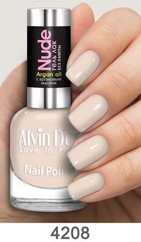 Alvin D`or Лак для ногтей Гель NUDE  тон 4208