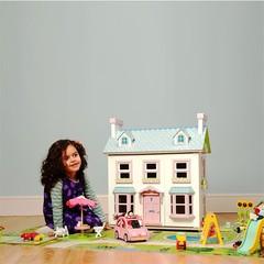 Игровой коврик 150x100 см Кукольный дом, LeToyVan