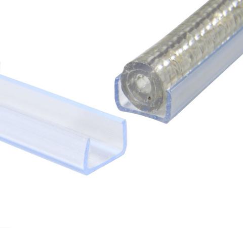 Канал куда прокладывать светодиодный шнур дюралайт держатель линейный пазлы
