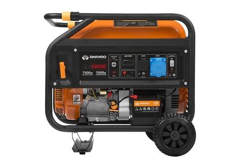Генератор бензиновый Daewoo GDA 8800E  Exspert Line