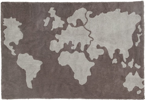 Ковер Lorena Canals World Map (140 х 200)