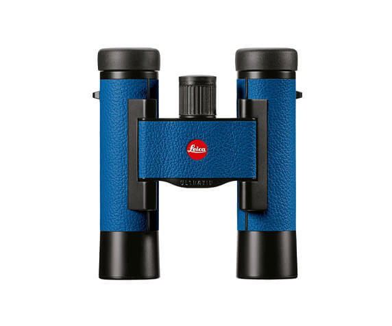 Бинокль Leica Ultravid Colorline 10x25 Capri Blue - фото 1