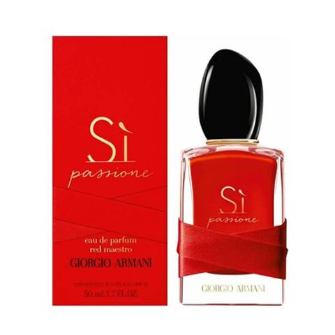 Giorgio Armani: Si Passione Red Maestro женская парфюмерная вода edp, 50мл