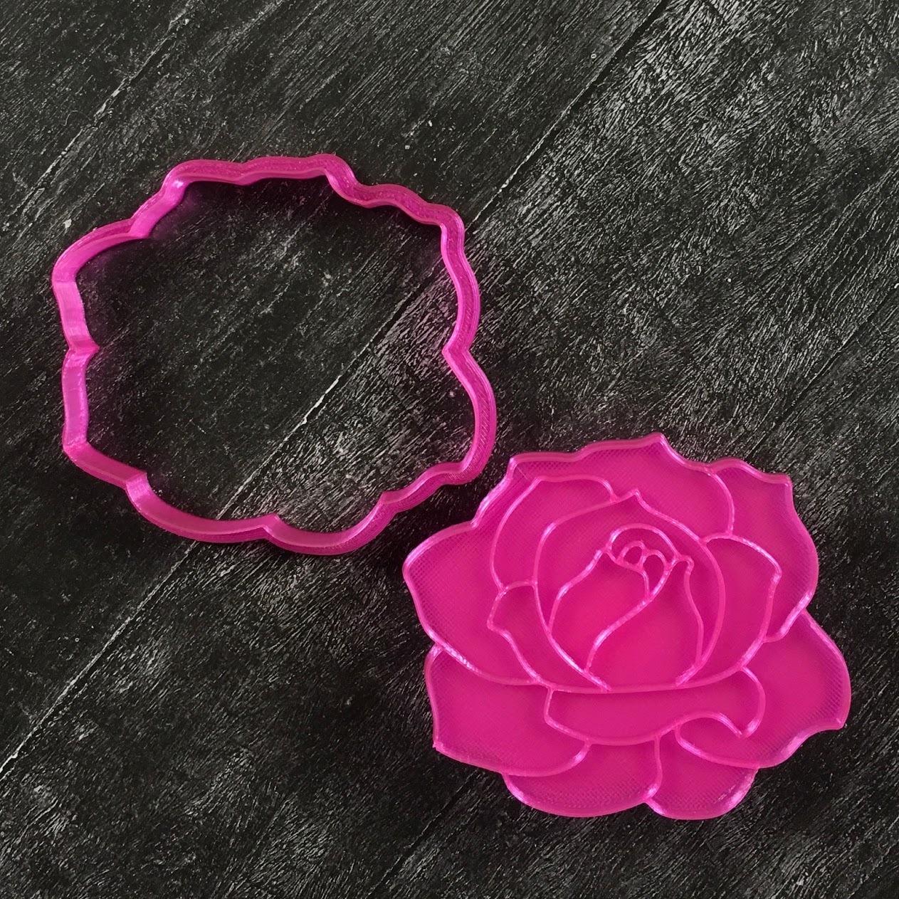 Роза-штамп №1