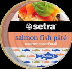 Паштет лососевый Setra, 100 гр