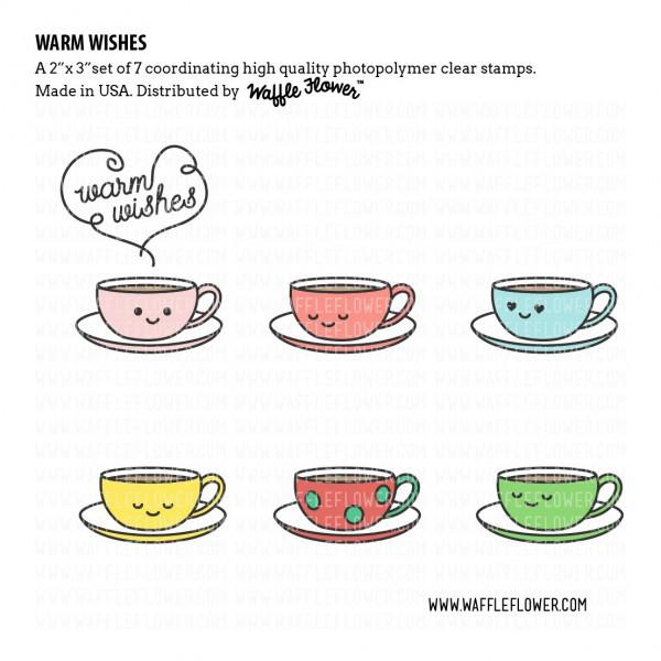 Набор штампов  Warm Wishes