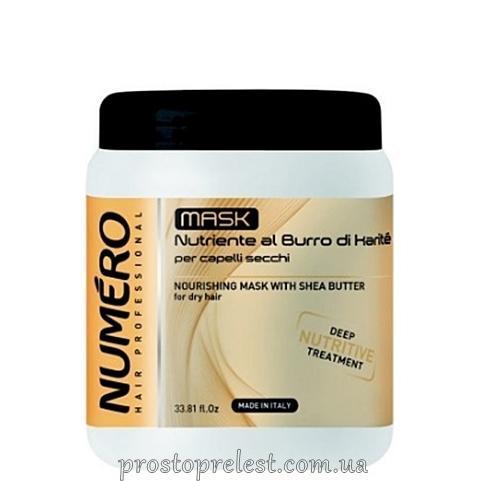 BRELIL NUMERO Маска питательная для волос с маслом карите