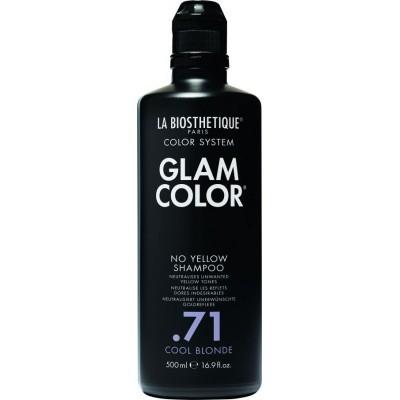 La Biosthetique Glam Color No Yellow Concept: Шампунь для осветленных и мелированных волос (Shampoo .71 Cool Blonde), 500мл