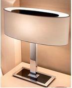 Настольная лампа фабрики Bover MEI OVAL - T shade - P-552D  cotton