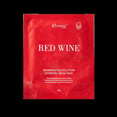 Esthetic House Гидрогелевая маска для лица с красным вином House Red Wine Regenerating Solution Hydrogel Mask Pack