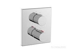 T-2000 Смеситель для душа термостатический скрытого монтажа (для установки с RocaBox A525869403) Roca 5A2C88C00 фото