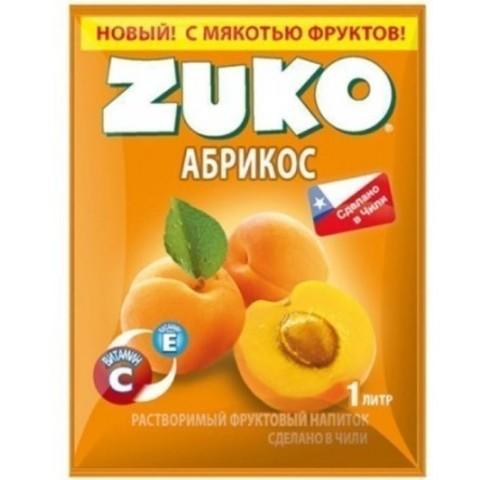 Растворимый напиток Zuko Абрикос 25 г