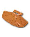 Вязаное пончо - Оранжевый. Одежда для кукол, пупсов и мягких игрушек.