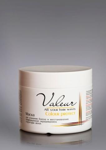 Liv-delano Valeur Маска для усиления блеска и восстановления структуры 300гр