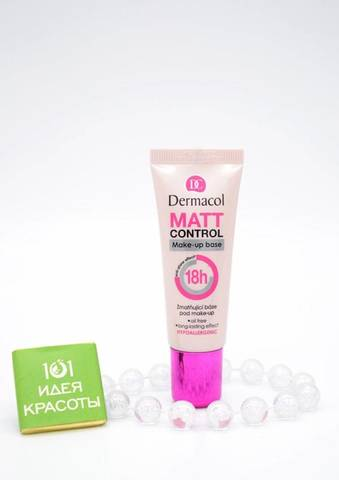 Dermacol Matt Control Make-Up Base Матирующая база под макияж, 20мл