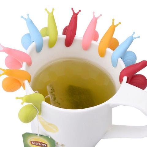 Силиконовые фиксаторы для чайных пакетиков