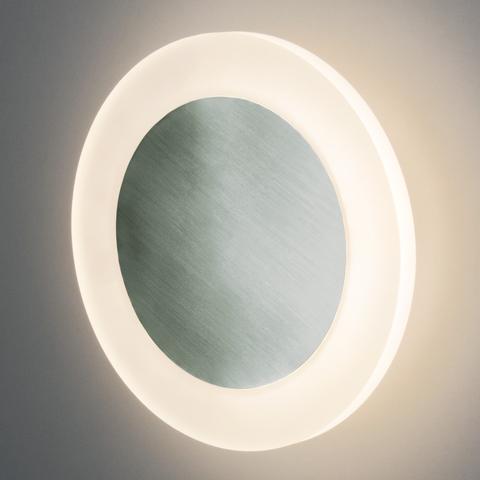 40140/1 LED серебро /  настенный светодиодный светильник 40140/1 LED