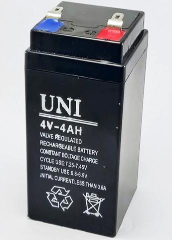 Аккумулятор UNI 4V 4Ah