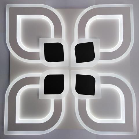 Светодиодный светильник с пультом MX-8776/4 WH+BK