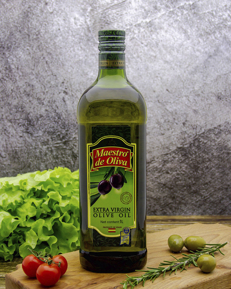 Оливковое масло Maestro de Oliva Экстра Вирджин 1 л.