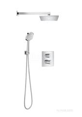 T-2000 Комплект термостатического смесителя скрытого монтажа с верхним и ручным душем Roca 5D1088C00 фото