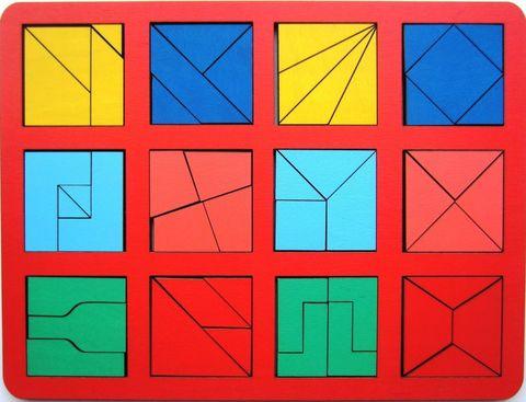 Сложи квадрат Никитина 2 уровень
